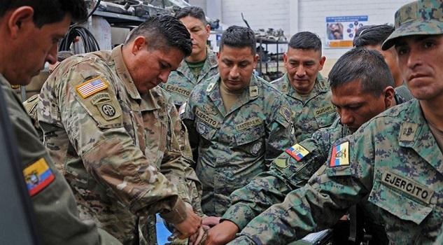 Kentucky National Guard Maintenance Team visits Ecuadorean Military