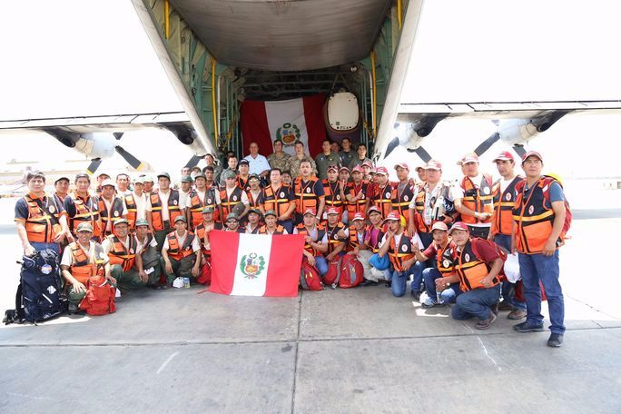 Peru Supports Chile in Fighting Fires