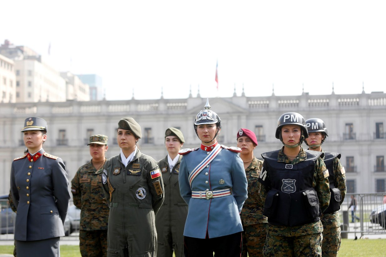 A Woman Could Become Commander-in-Chief of the Chilean Army