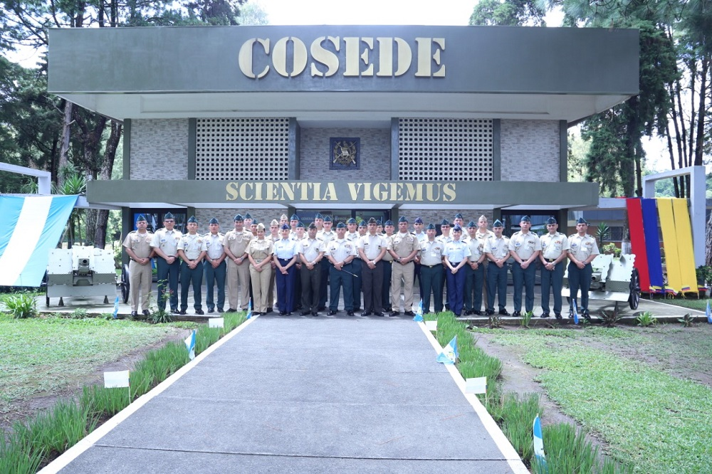Colombian, Guatemalan Service Members Exchange Experiences