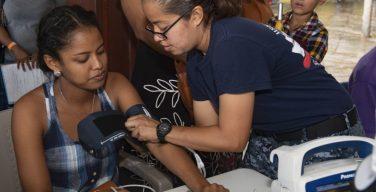 Comfort Mission Arrives in Honduras