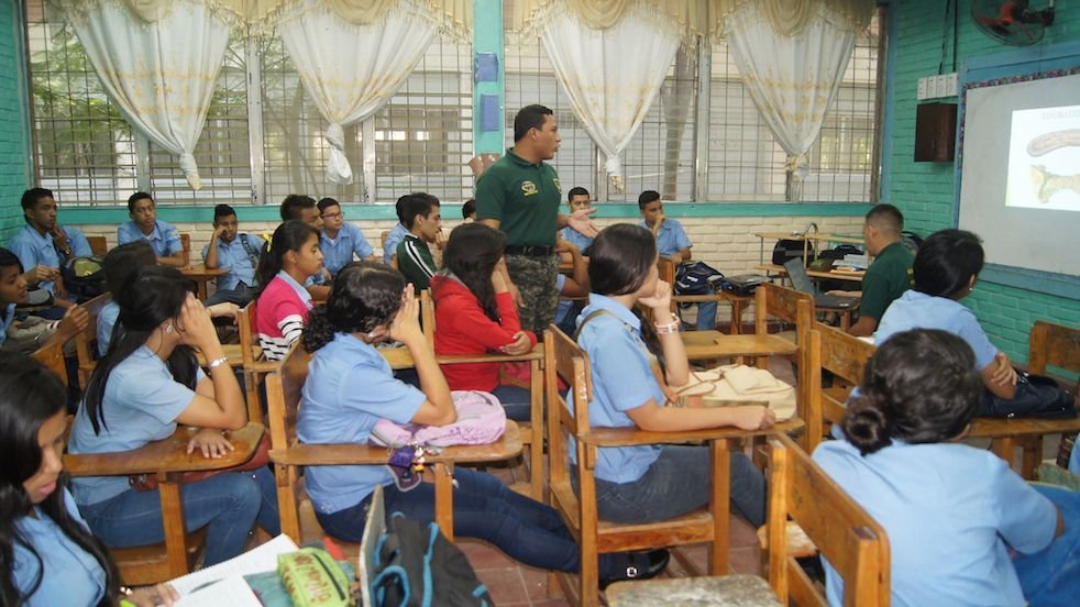 Honduras: FUSINA Carries Out Drug Prevention Program Targeting Teenagers, Children
