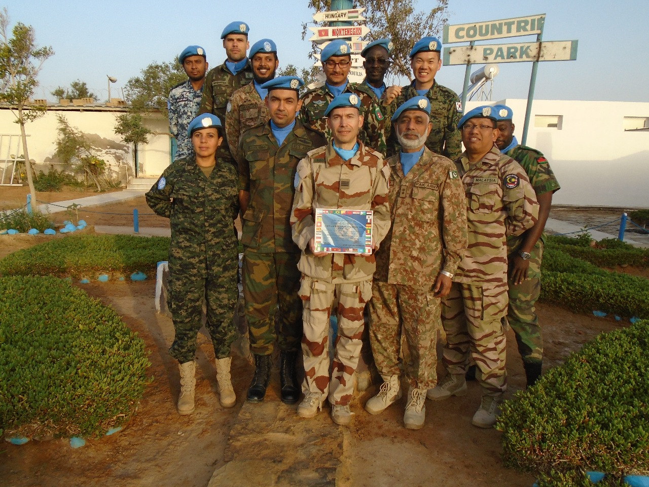 Female Honduran Officer Takes Part in Peacekeeping Mission for First Time