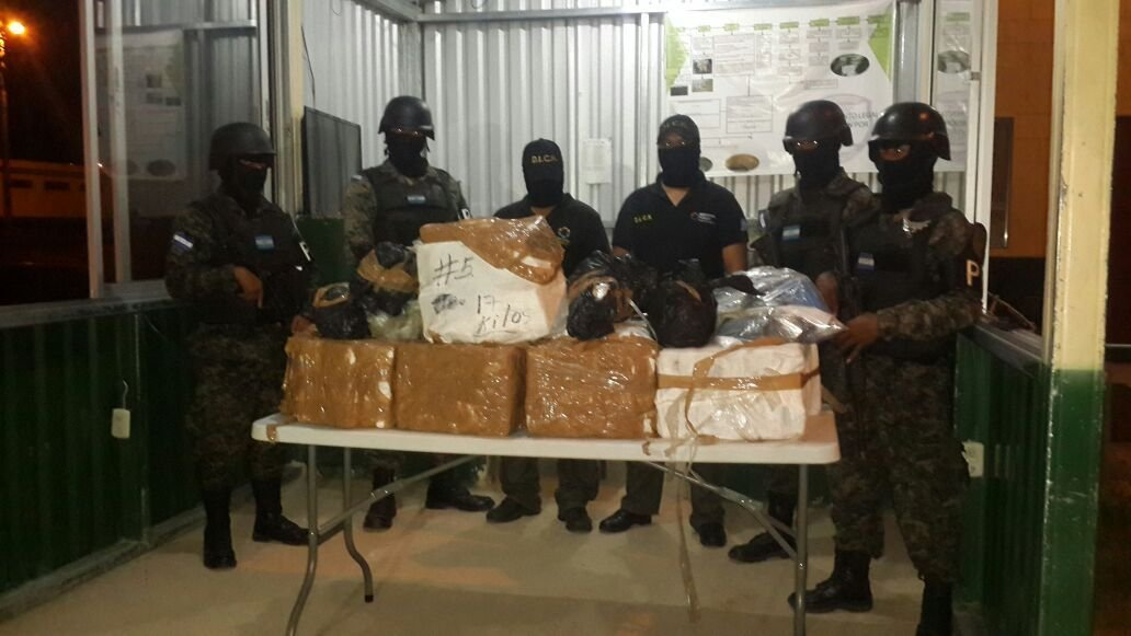 Honduras in Frontal Assault against Drug Trafficking