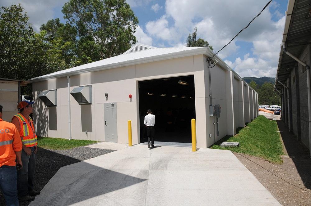 SOUTHCOM Gifts Humanitarian Aid Warehouse to Honduras