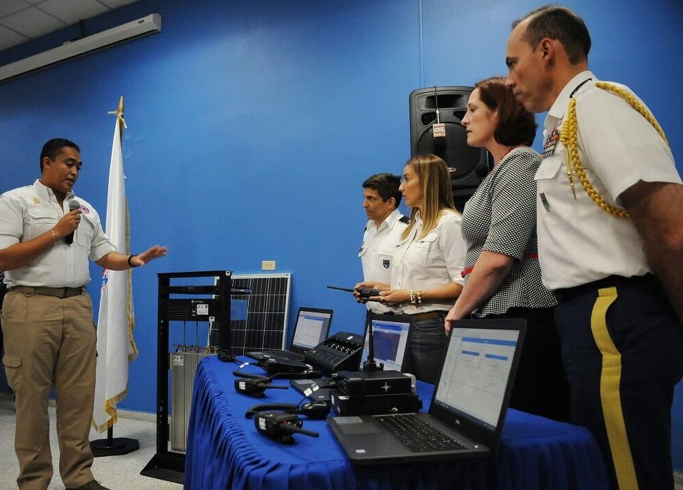 SOUTHCOM Donation Strengthens Honduran Emergency Network