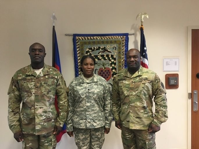Haitian American Soldiers Give Back to Haiti