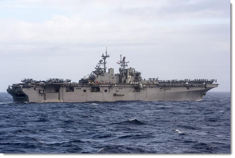 JTF-Matthew Transitions to USS Iwo Jima