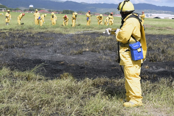 Central American Firefighters Undertake CENTAM SMOKE 2018