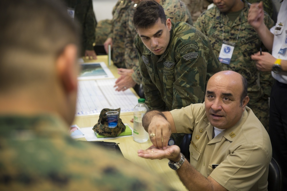 Marines, Partner Nation Military Planners Come Together for UNITAS Amphibious