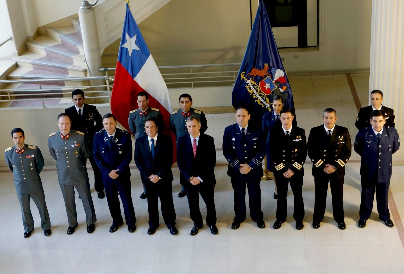 Chilean Armed Forces Support Peace in Colombia