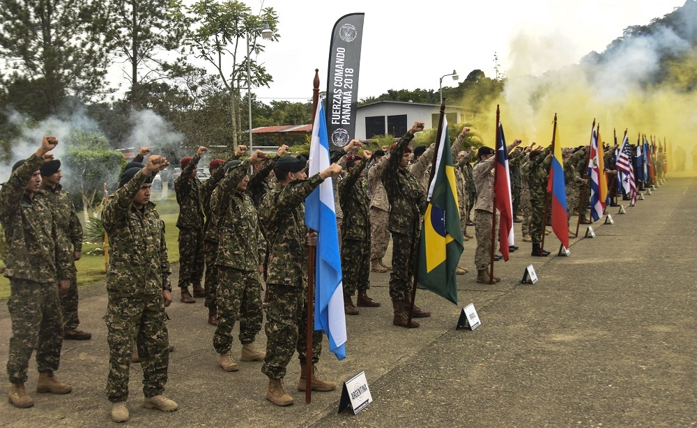 Colombia Takes First Place; U.S. is Runner-Up in Fuerzas Comando 2018
