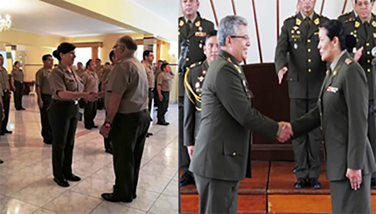 Peruvian Army Appoints First Female Colonels