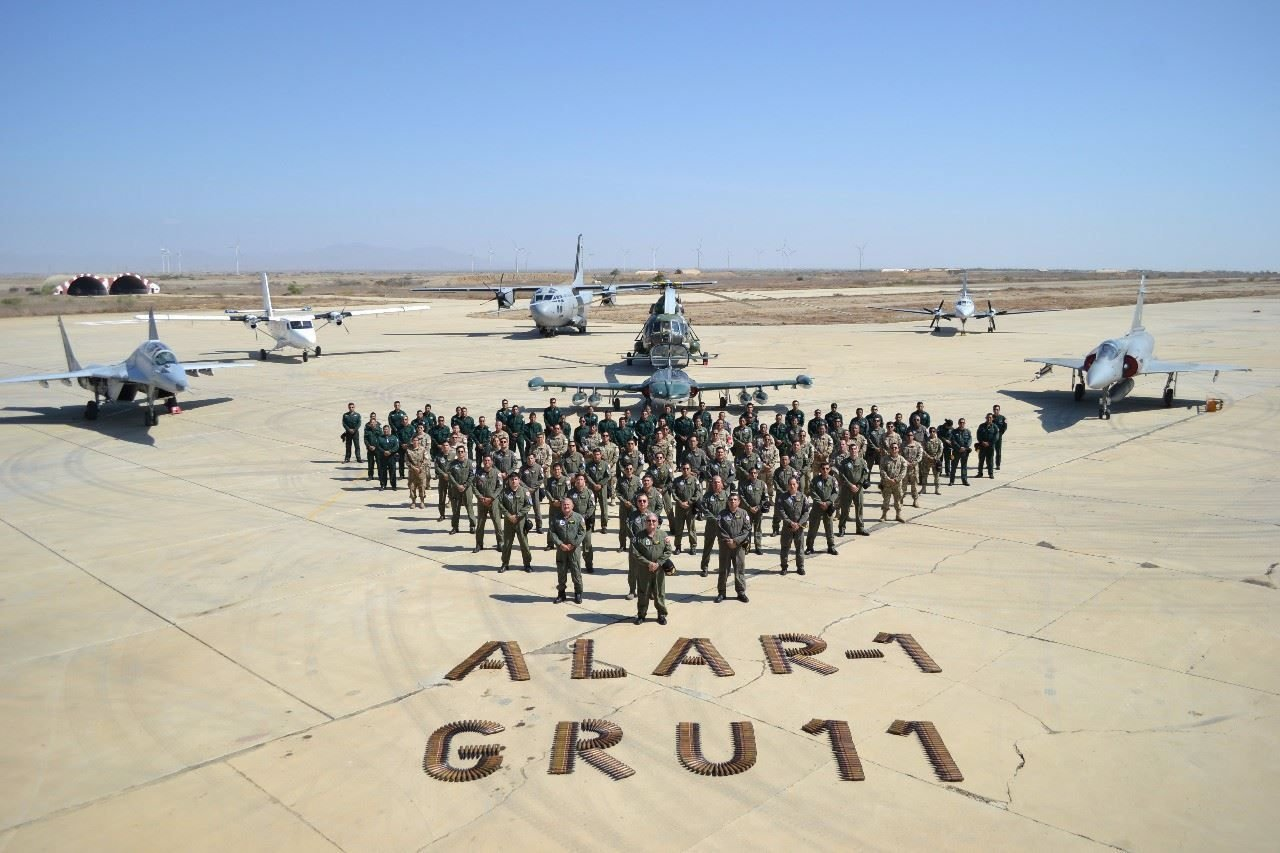 Peruvian Air Force Conducts Operational Training