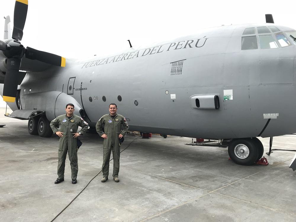 Peru-Ecuador Exchange Experiences on Hercules Aircraft