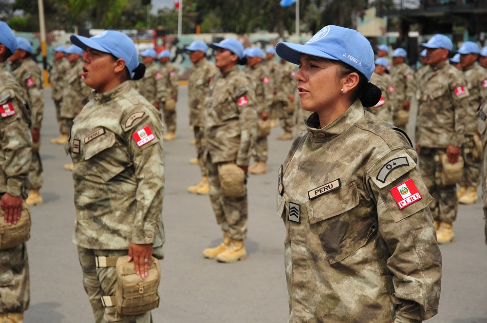 Peru Deploys Female Officers to MINUSCA