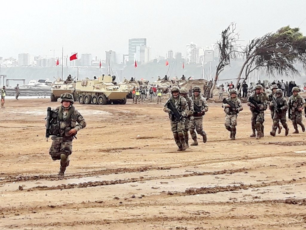 Peru, US Participate in Combined Maritime Exercise Waves of Solidarity