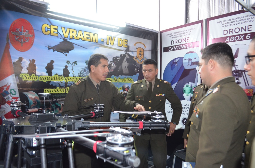 Peruvian Army Promotes Science and Technology
