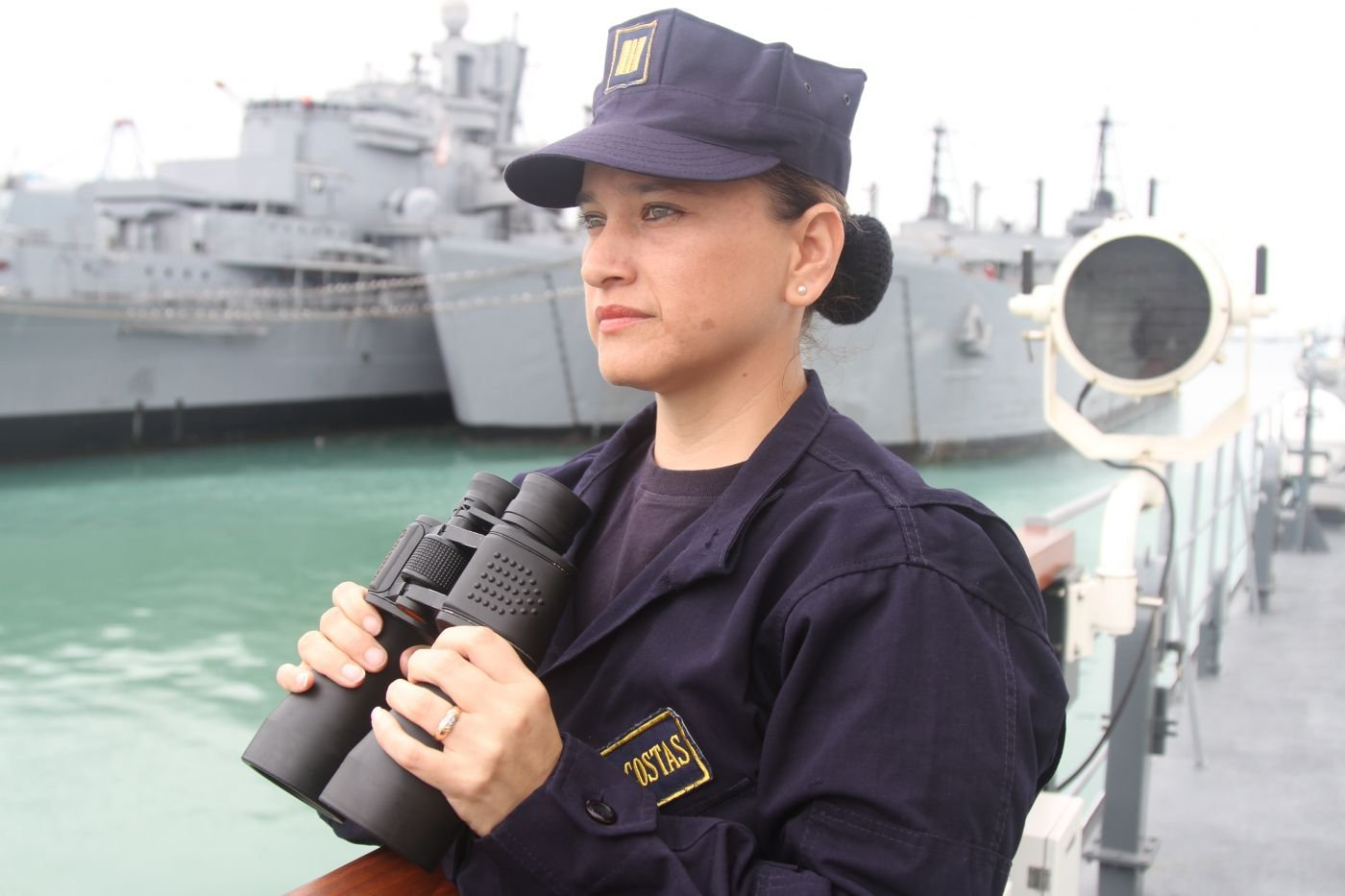 A Woman Leads Peruvian Offshore Patrol Vessel for the First Time