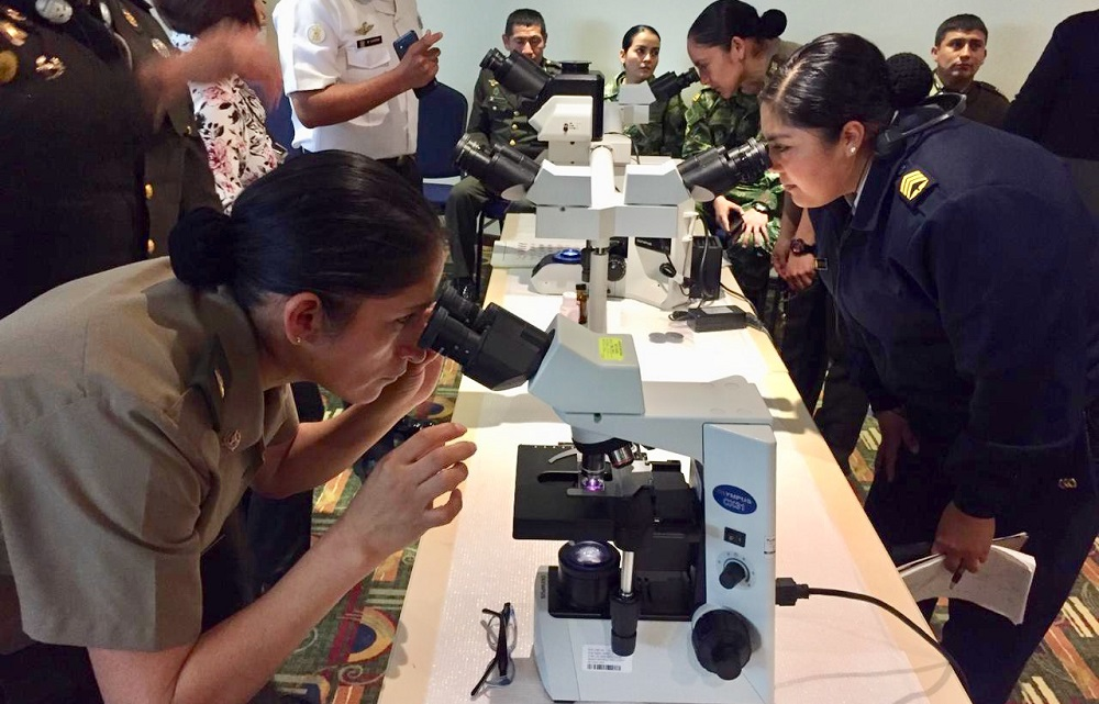 Peruvian Peace Corps Learns to Prevent Tropical Diseases