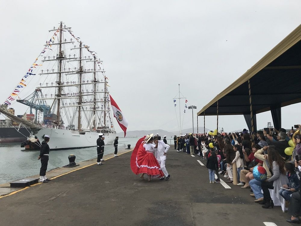 Peruvian Navy Ship Completes Second Training Cruise