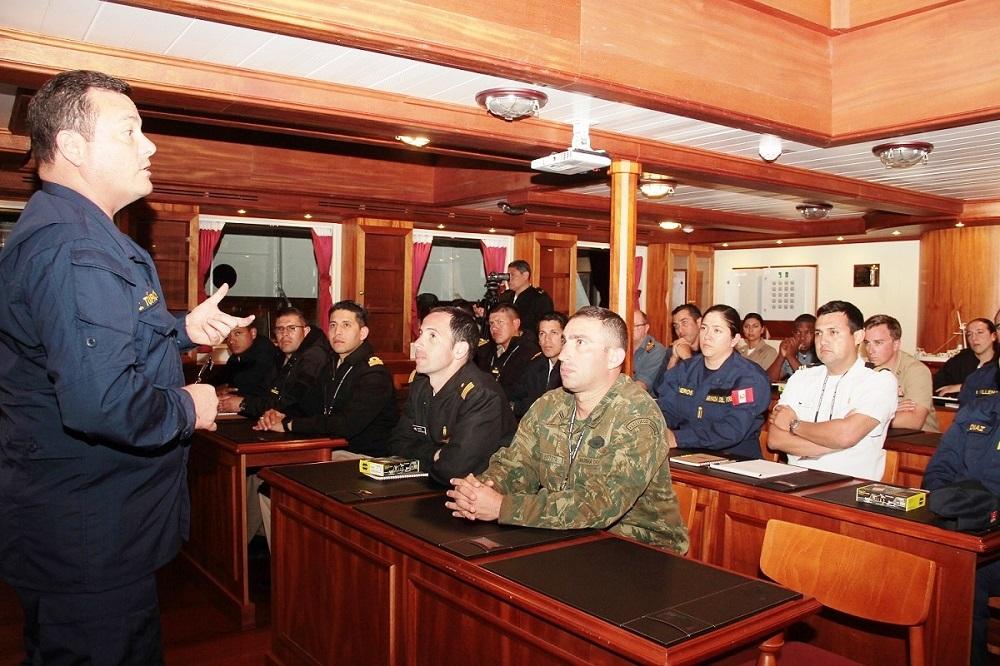 Peru Hosts V International Symposium of Navies of the Americas
