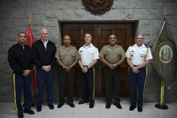 West Virginia Leaders Plan Engagements with Peruvian Forces