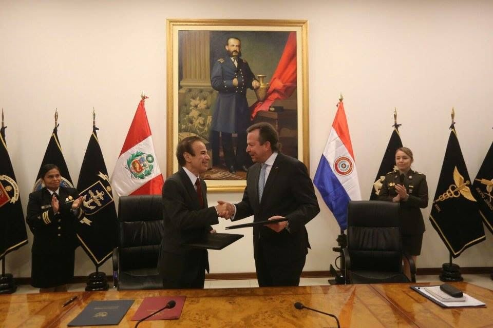 Peru and Paraguay Further Cooperation on Matters of Security and Defense