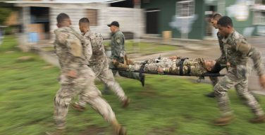 In Panama, NCO Trains Security Forces on Medical Response