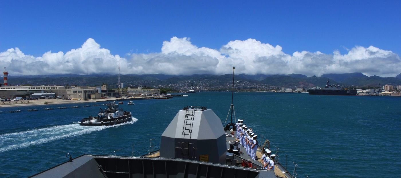 Chilean Army and Navy Participate in RIMPAC 2016 Exercise