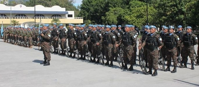 Salvadoran Contingent VIII Reinforces Haiti Reconstruction
