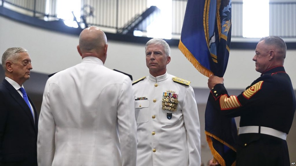New Admiral Takes Helm of US Southern Command