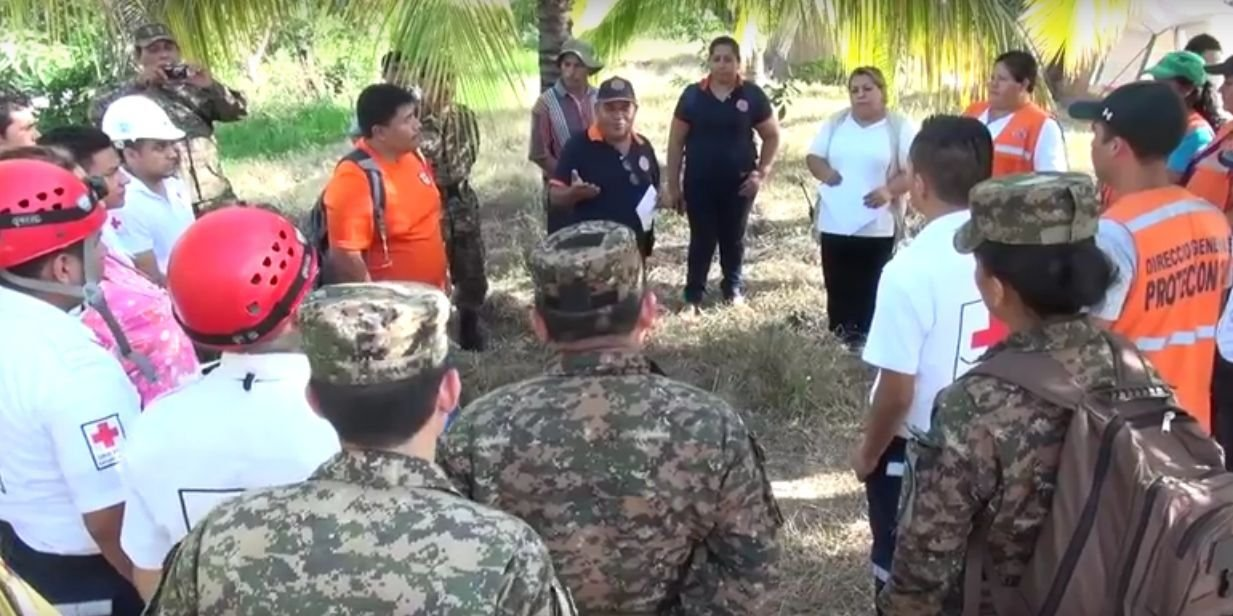 FAES Trains Salvadorans to Protect themselves  in Natural Disasters