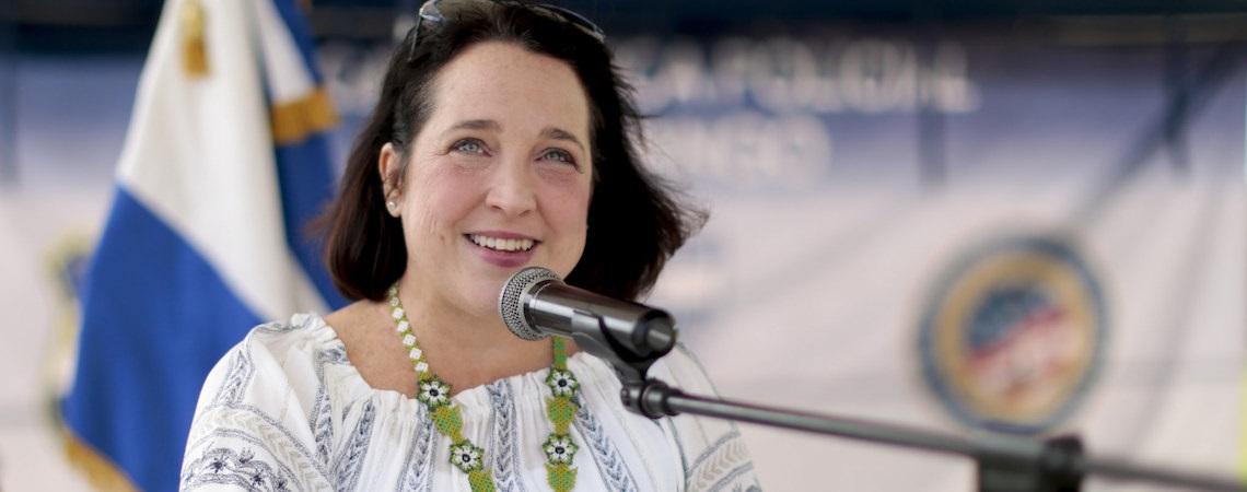 U.S. Ambassador to El Salvador Concerned about China's Influence in Region