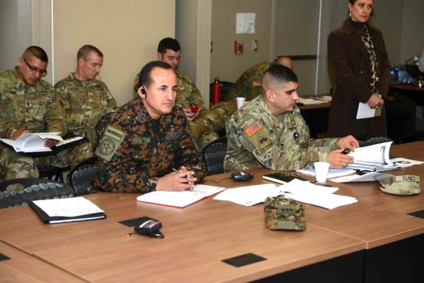 U.S. Army South Hosts Salvadoran Army Representatives
