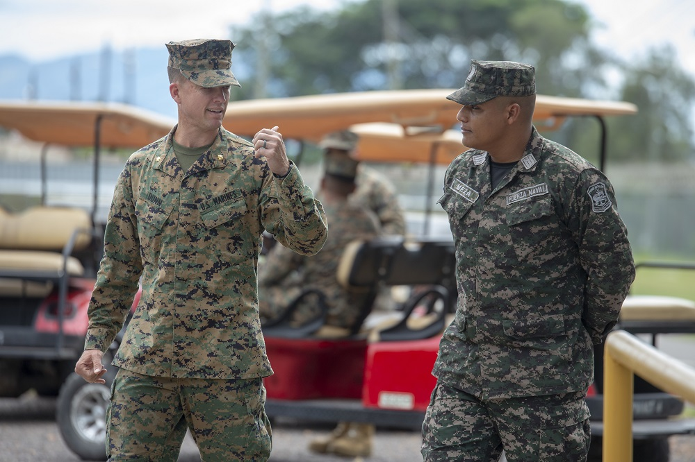 SPMAGTF-SC Welcomes aboard Honduran Liaison Officer