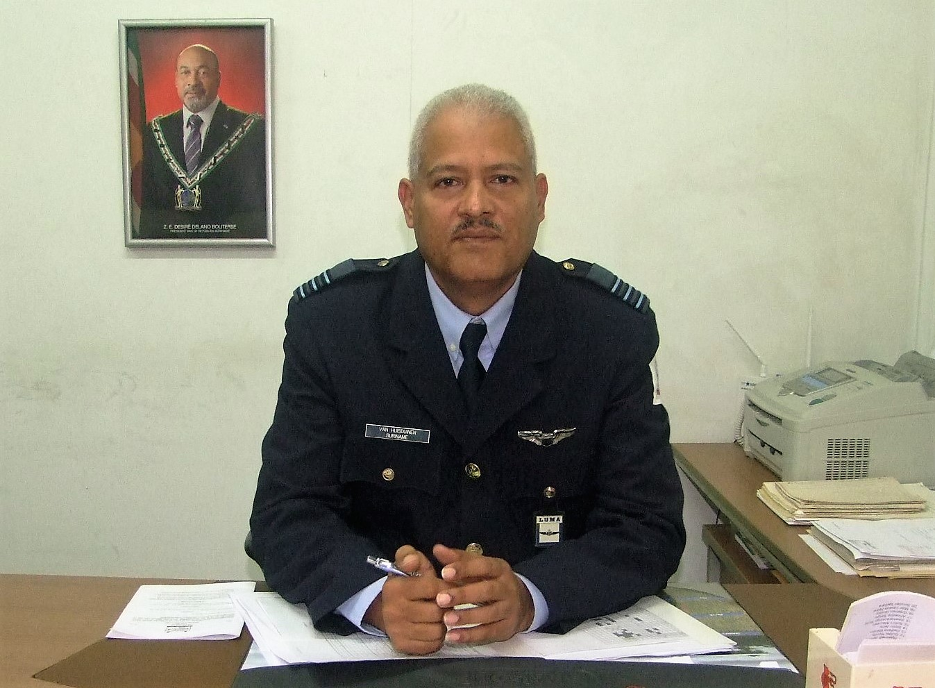 Suriname Air Force Deputy Commander Looks Forward to Greater Regional Collaboration