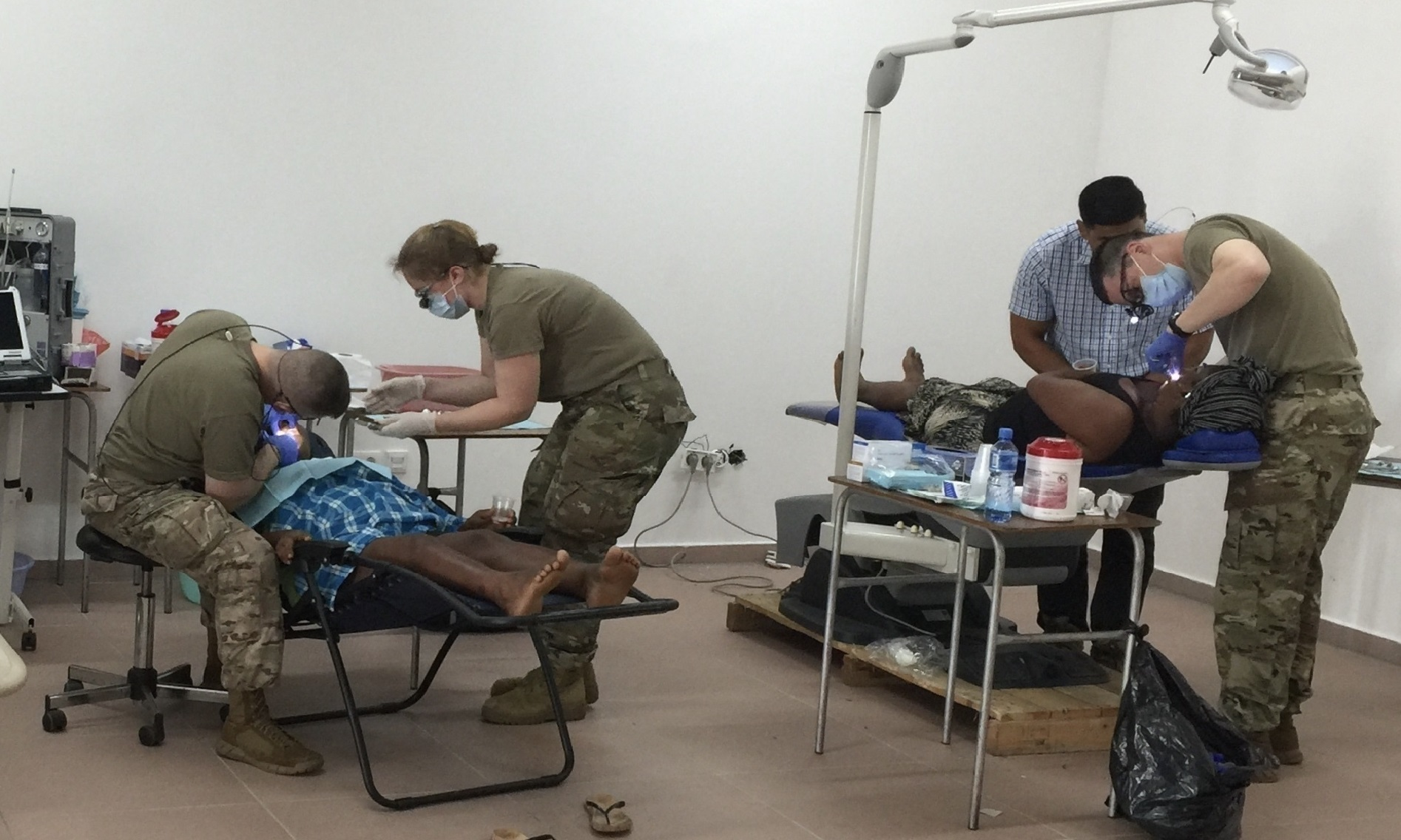 SD Guard, Suriname Partner Together to Provide Medical, Dental Services