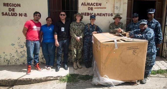 Southern Partnership Station 2017 Donates Medical Supplies to Honduran Department of Health