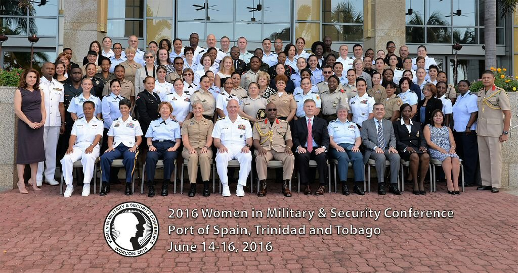 Trinidad & Tobago Hosts First Conference on Women in the Military and Security