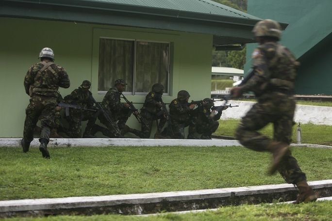 Phase II of Tradewinds 2017 Exercise in Caribbean Ends