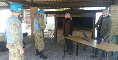 Uruguay and the United States Increase Security in Peacekeeping Missions