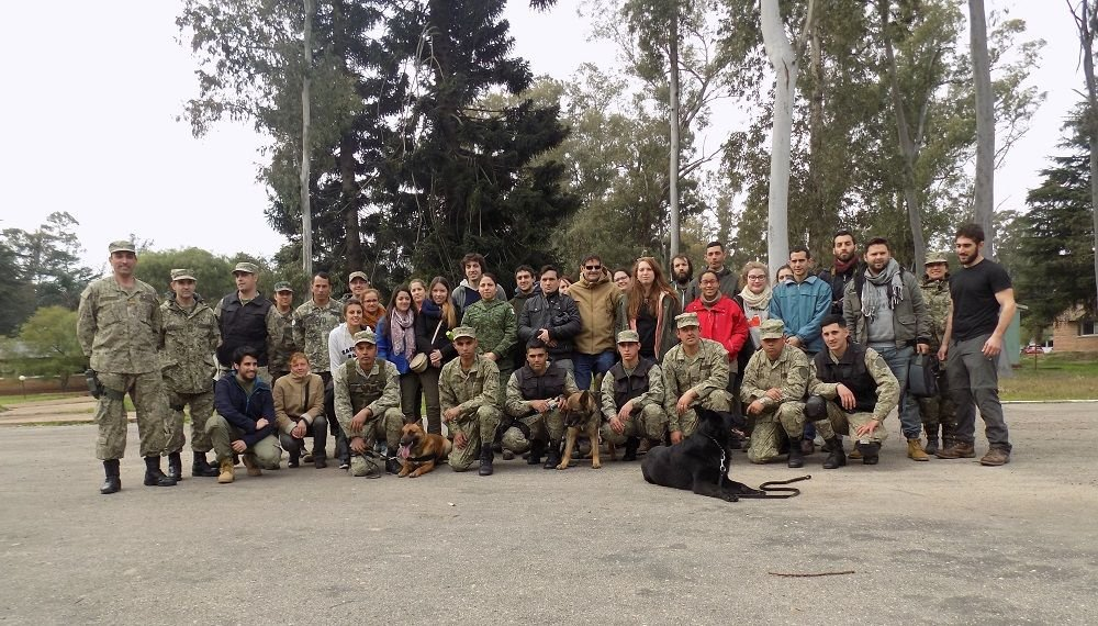 Uruguayan Army's Peace Operations School Trains Journalists