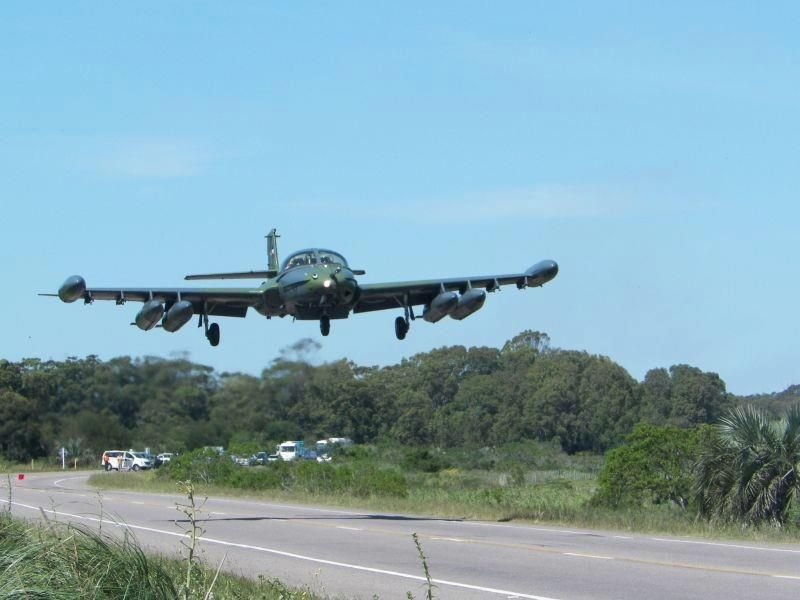 Uruguayan Air Force Evaluates its Capabilities on Brazilian Border