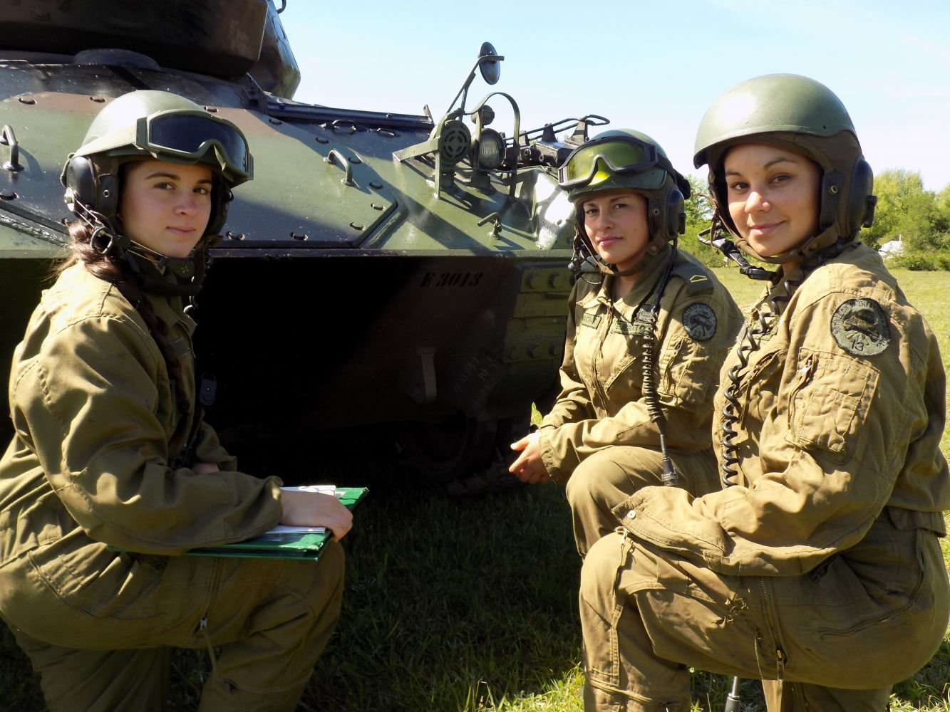 Women at the Forefront of Uruguayan Army