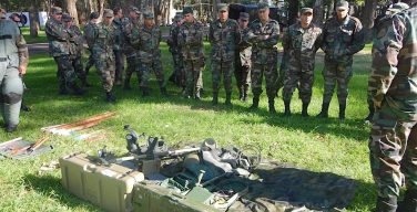 Uruguayan Army Trains in IED Detection