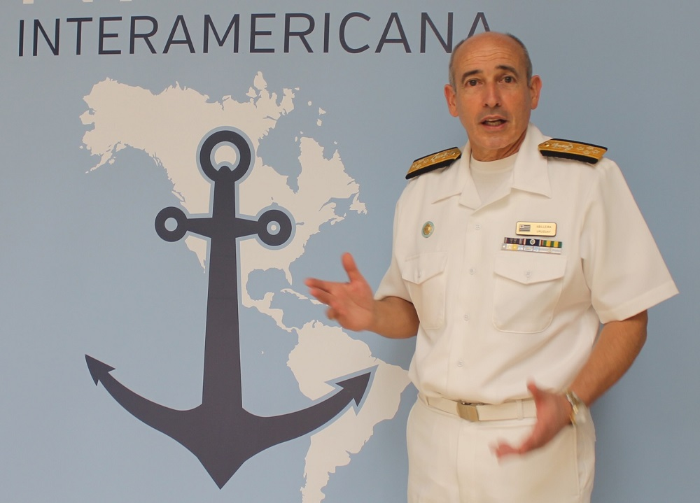 Uruguayan Navy Committed to the Fight Against Narcotrafficking