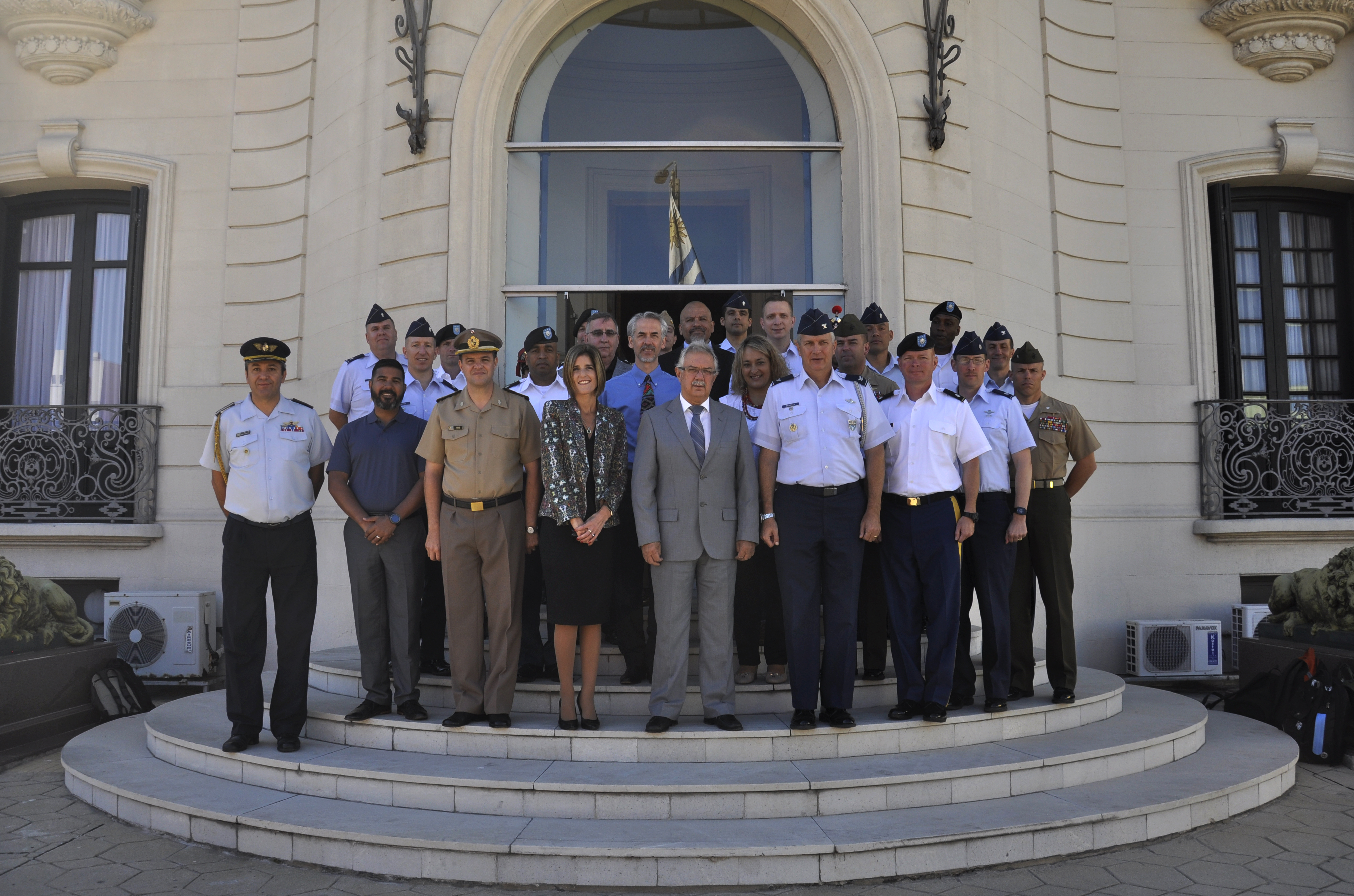 U.S. Air University Colonels Visit Uruguay