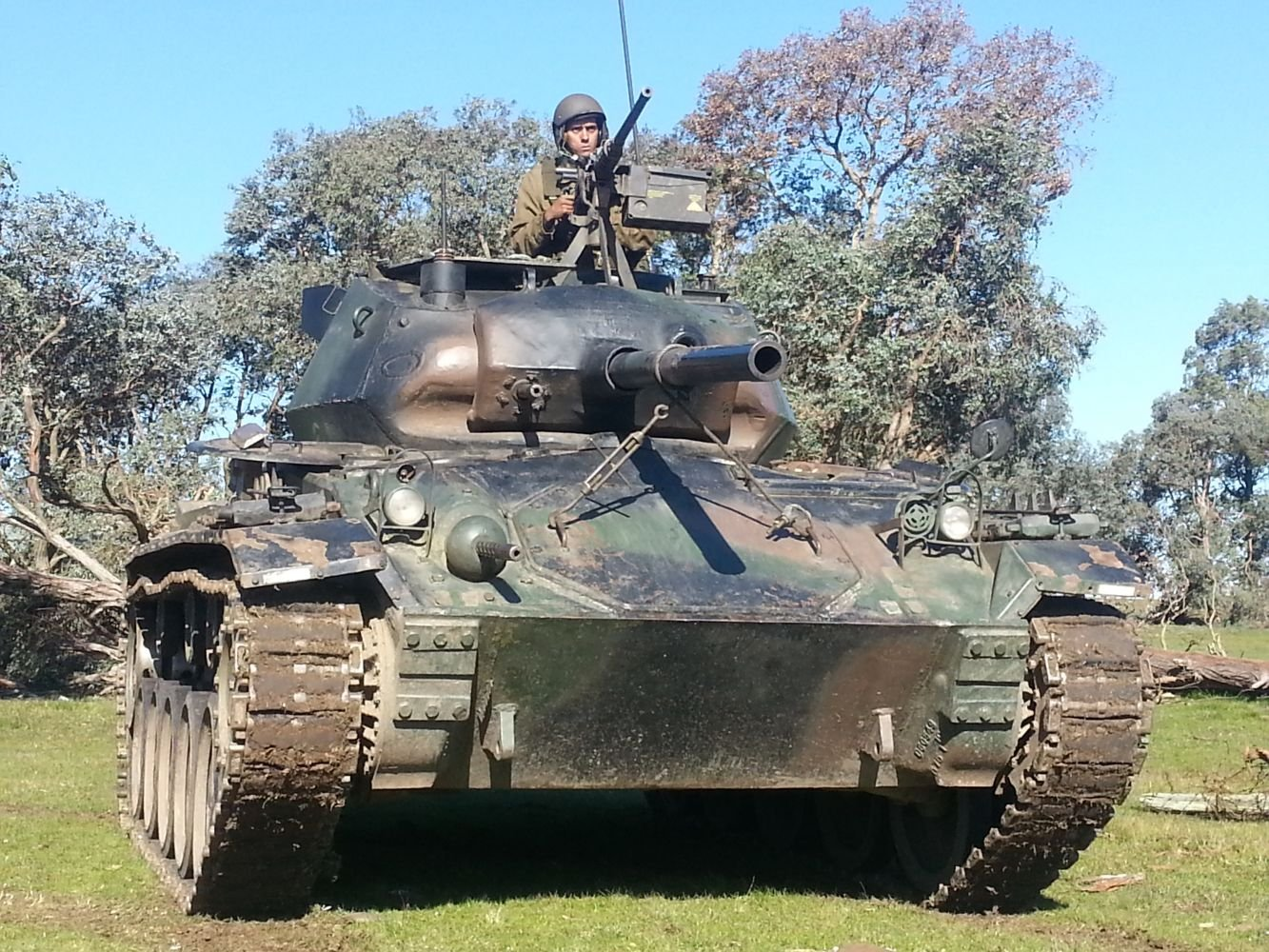 U.S. Armored Vehicles Create Unique Breed of Uruguayan Infantry