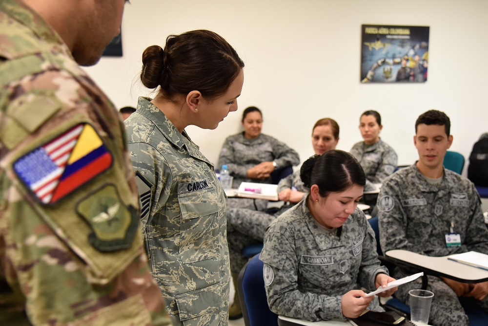 Air Advisors Partner with Colombian Air Force to Build Capacities